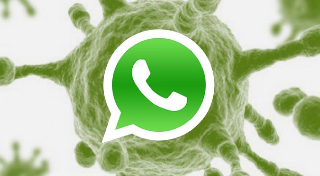 Como Llegan Los virus en WhatsApp